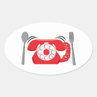 Dinner Reservations Sticker