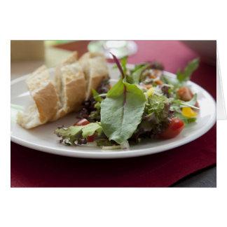 Dinner Salad Greeting Card