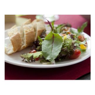 Dinner Salad Postcard