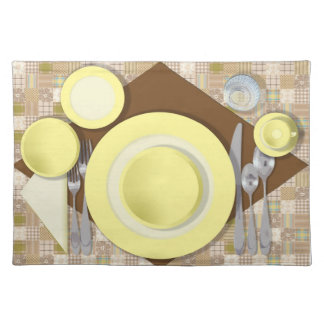 """Dinner Setting #3"" Placemat"