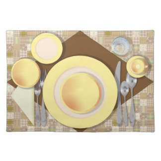 """Dinner Setting #5"" Placemat"