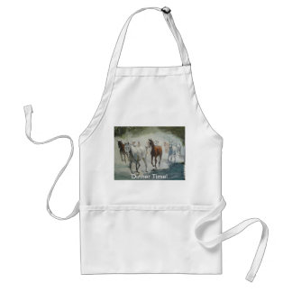 Dinner Time Adult Apron