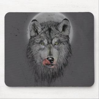 Dinner time (dark version) mouse pad
