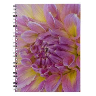 Dinnerplate Dahlia Spiral Notebook