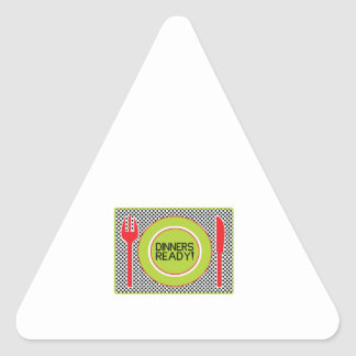 Dinners Ready Sticker