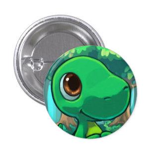 Dinnersaurus Sweetie Dino 1 Inch Round Button
