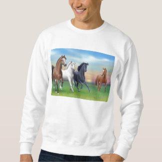 Dinnertime en la camiseta de la granja sudaderas encapuchadas