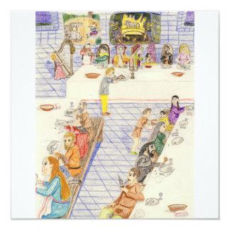 Dinnertime In The castle Card