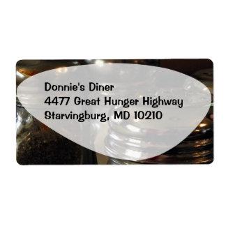 Dinnertime Label Shipping Label