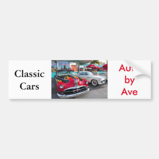 Dinning in the 50's at Mel's Diner Bumper Sticker