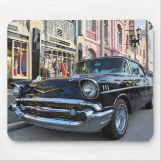 Dinning in the 50's at Mel's Diner Mousepads