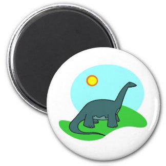 Dino 2 Inch Round Magnet