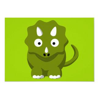 dino-306331 BABY GREEN DINOSAUR CARTOON  dino dino Card