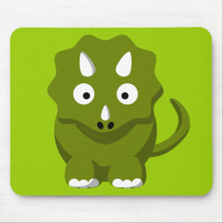 dino-306331 BABY GREEN DINOSAUR CARTOON  dino dino Mouse Pad