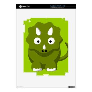 dino-306331 BABY GREEN DINOSAUR CARTOON  dino dino iPad 2 Skin