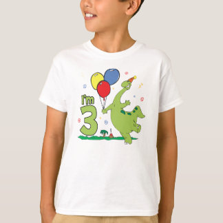 Dino 3rd Birthday T-Shirt