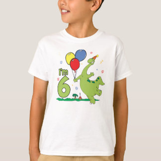 Dino 6th Birthday T-Shirt