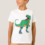 Dino AFO embroma T Poleras