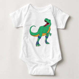 Dino AFO Infant T Baby Bodysuit