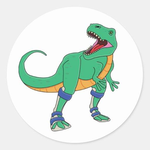 Dino AFO Stickers