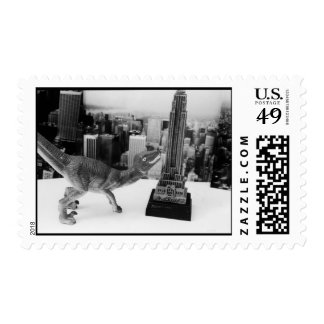 Dino Attacks NYC Stamps!