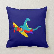 Dino Aviator Pillow