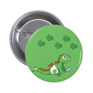 Dino Babies 2 Inch Round Button