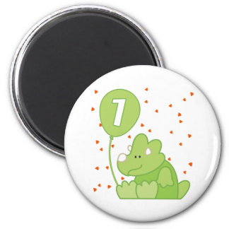 Dino Baby 1st Birthday Magnet
