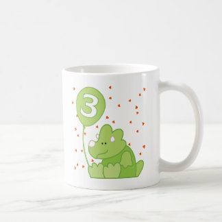 Dino Baby 3rd Birthday Coffee Mug