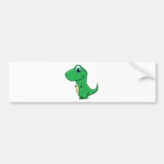 dino baby.png bumper sticker