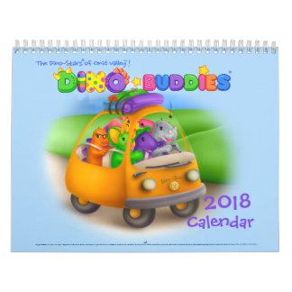 Dino-Buddies™ 2018 Calendar – Road Trip wPap™