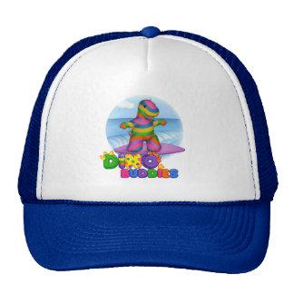 Dino-Buddies™ Baseball Cap – Bo Surfing Scene Trucker Hat