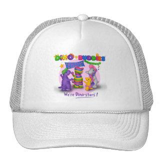Dino-Buddies™ Baseball Cap – Fiesta Scene Trucker Hat