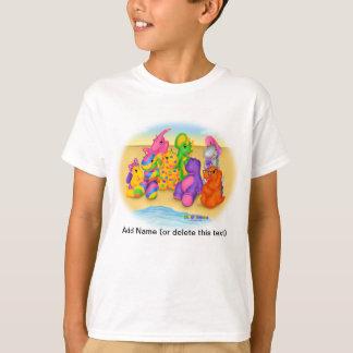 DINO-BUDDIES™ - Beach Wave T-Shirt (White)