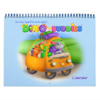 Dino-Buddies® Calendar – Road Trip w/Dino-Buddies