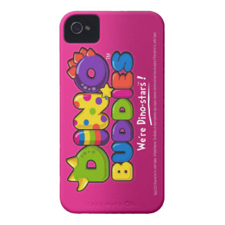 DINO-BUDDIES™ - Component Logo Pink - iPhone 4 Ca iPhone 4 Case