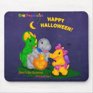 DINO-BUDDIES™ - Happy Halloween Mouse Pad