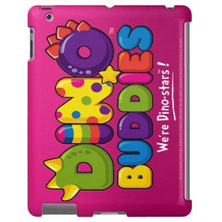 DINO-BUDDIES™ Logo 2 iPad 2,3,4 CaseMate (Pink)