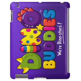 DINO-BUDDIES™ Logo 2 iPad 2,3,4 CaseMate (Purple)