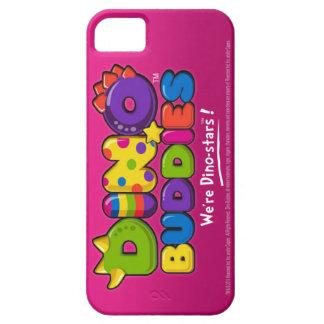 DINO-BUDDIES™ - Logo 2 - iPhone 5 Case (Pink)