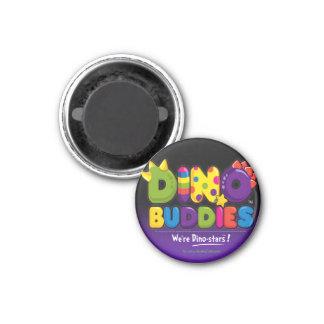 DINO-BUDDIES™ - Logo 2 Magnet (Black)