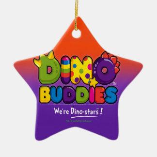 DINO-BUDDIES™ - Logo 2 Ornament Star (Black)