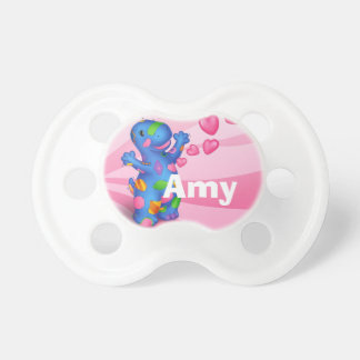 Dino-Buddies™ Pacifier – Patches w/Hearts