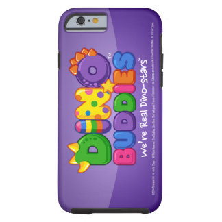 DINO-BUDDIES™ - Purple Haze Logo - iPhone 6 Case. Tough iPhone 6 Case