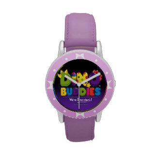 DINO-BUDDIES™ - Reloj del logotipo 2 (negro)