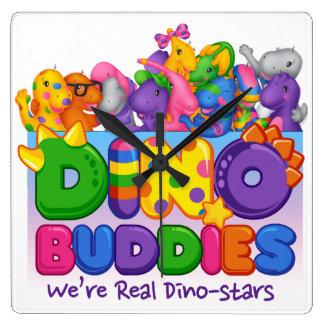 Dino-Buddies™ Wall Clock - Always Together Scene