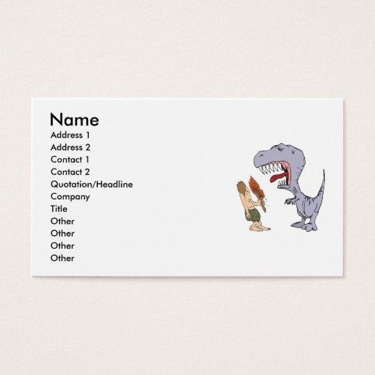 Dino Burp Business Card