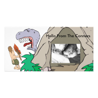 Dino Burp Card