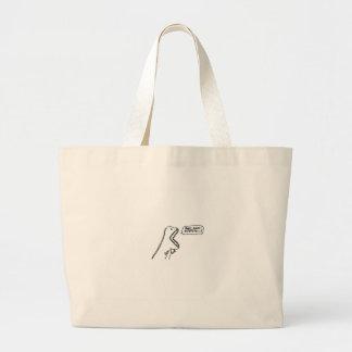 dino canvas bag