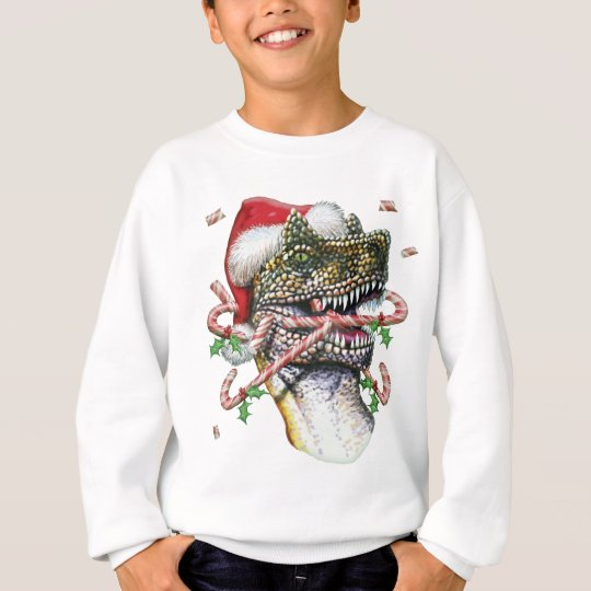 Dino Christmas Sweatshirt